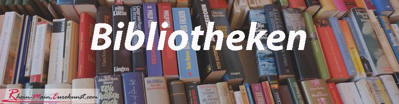 Bibliotheken und Archive im Rhein-Main-Gebiet auf rhein-main.eurokust.com