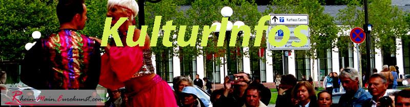 kulturtipps im Rhein-Main-Gebiet für 37 Städte auf rhein-main.eurokunst.com