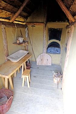 Backhaus auf dem karolingischen Herrenhof Lauresham