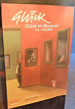 Glück im Museum, Ausstellung vom Großmeister der Satire-Malerei Gerhard Glück