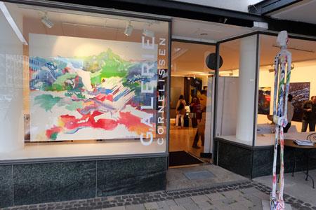 """© massow-picture: Galerie Cornelissen, Webergasse 3, lud mit der Ausstellung """"Augen auf! Das muss ich sehen!"""" ein."""