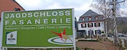 © massow-picture für das leibliche Wohl sorgen das Restaurant Jagdschloss, der Biergarten und der Kiosk im Tierpark Fasanerie Wiesbaden, Eurokunst