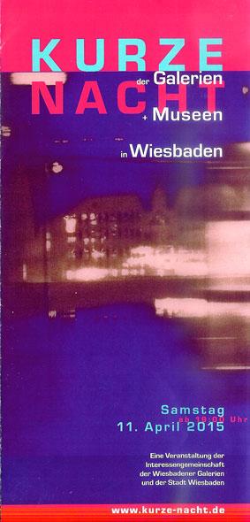 15. kurze nacht der Museen Wiesbaden