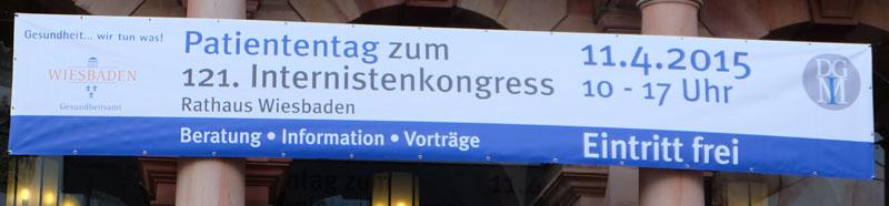 Patiententag anläßlich des Internistenkongresses in Wiesbaden