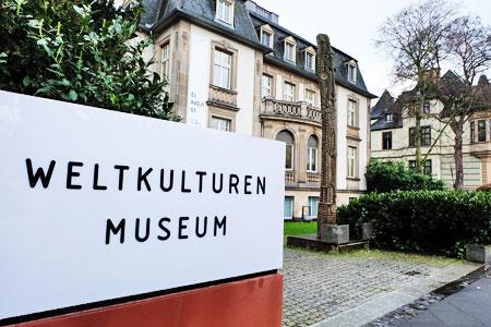 Weltkulturen Museum Frankfurt bei Eurokunst