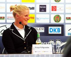 """Freya Füllgraebe.Andreas Dibowski. Michael Jung, viermaliger Seriensieger war ein guter """"Verlierer"""". © massow-picture"""