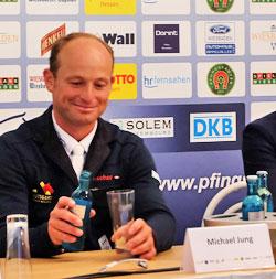 """Michael Jung, viermaliger Seriensieger war ein guter """"Verlierer"""". © massow-picture"""