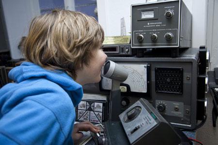 Am 21. Juni dürfen Kinder im Hessenpark funken wie die Großen.