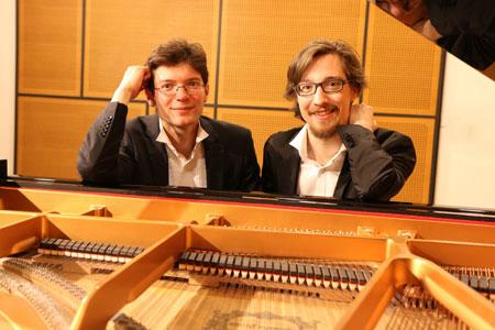 Solisten: Roman Krupskyy und ChristohrPopp, © wiesbadener-musikakademie