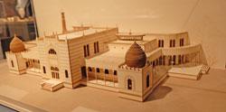 Der preußische Architekt Carl von Diebitsch entwarf um 1862 das Bade- und Caféhaus in Kairo