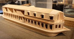 Badschiff auf der Seine 1760