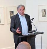 Dr. Helmut Müller, Geschäftsführer des Kulturfond Frankfurt