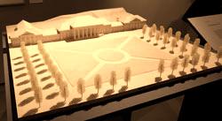 Modell: Konversationshaus Baden-Baden von 1824