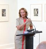 Rose-Lore Scholz, Kulturdezernentin wies nochmals auf den Kunstsparten übergreifenden Ansatz hin. © massow-picture