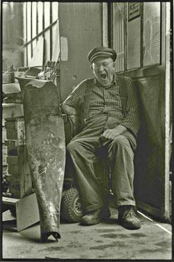 Der alte Herr mit dem Propeller (Leitmotiv). Foto: Heinz Schlömp