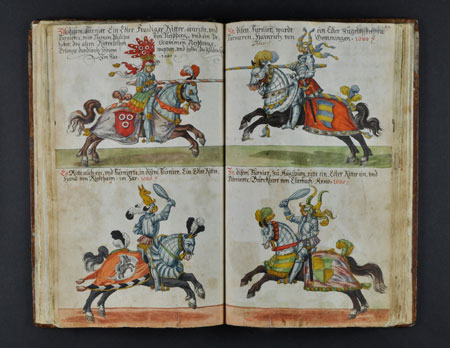 Abbildung aus dem Turnierbuch der Kraichgauer Ritterschaft