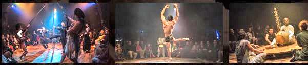Cirque Bouffon - Show-Szenen aus Quilombo. © Frédéric Zpperlin