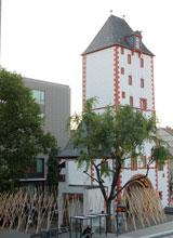 Eisenturm, Sitz und Ausstellungsräume des Kunstvereins Eisenturm.   © massow-picture