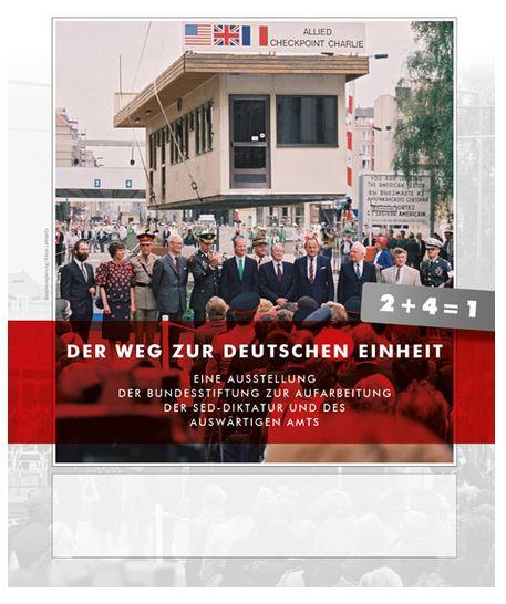 """Plakat zur Ausstellung: """"Der Weg zur Deutschen Einheit"""". © wiesbaden.de / Foto: Kulturamt"""