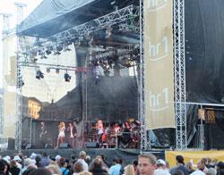 Große Bühne an der Hauptwache © massow-picture
