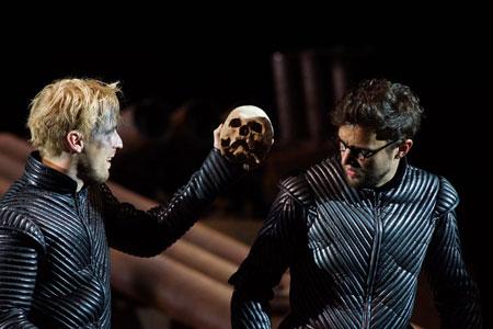 Szene aus Hamlet, Prinz von Dänemark © Monika und Karl Forster
