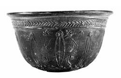 AMF-Megarischer Reliefbecher 1 und 2-Jd-n-Chr ©- Archäologisches Museum Frankfurt