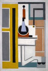 Marcelle Cahn, Abstrakte Komposition, 1925, Öl auf Leinwand, 72,4 x 49,7 cm, Musée de Grenoble © Foto Musée de Grenoble