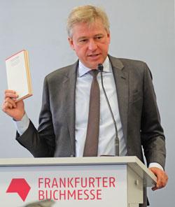 Juergen Boos, Direktor der Frankfurter Buchmesse. © massow-picture