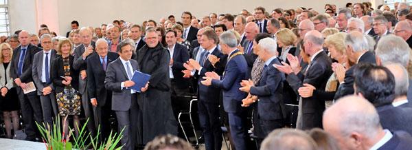 Verleihung des Friedenspreis des Deutschen Buchhandels 2015 als Navid Kermani in der Frankfurter Paulskirch © massow-picture