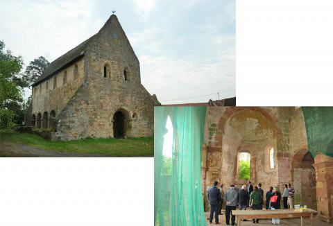 Beispiel Kloster Konradsdorf: Hier sorgt das Kulturinvestitionsprogramm für die Instandsetzung der Klosterkirche und des Nonnenhauses. © kunst.hessen.de