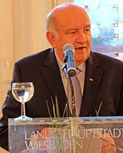 Stadtverordnetenvorsteher und Mitglied des Auswahlgremiums Wolfgang Nickel. © massow-picture
