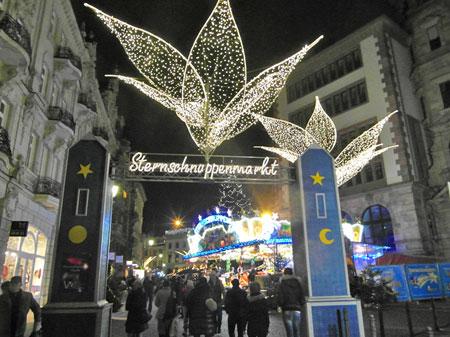 Weihnachtsmarkt Am Goetheturm.Sternschnuppenmarkt Wiesbaden Rhein Main Eurokunst