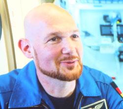 Dr. Alexander Gerst, deutscher ESA-Astronaut, Vulkanologe und Geophysiker, Foto ESA