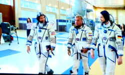 Im Trainingscenter der NASA Houston, © ESA