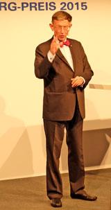 Prof. Dr. Heinz Riesenhuber, Alterspräsident und Bundesforschungsminister  a.D. © massow-picture