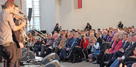 Shantal und das Bucovina Club Orkestar mit Balkan Pop © massow-picture