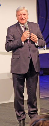 Volker Bouffier, Hessischer Ministerpräsident. © massow-picture