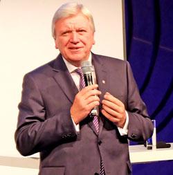 Schirmherr Volker Bouffier, Hessischer Ministerpräsident