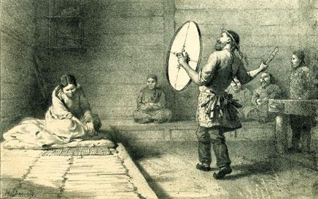 Schamane der Niwchen,© Archäologisches Museum Frankfurt