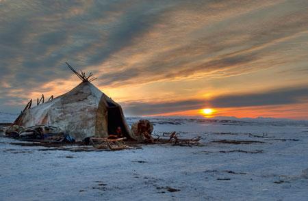 Landschaft im russischen Tschukotka 2009 Foto: Diamar Erlebnisreisen