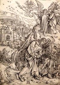 """""""Flucht aus Ägypten"""" - Ist dies Dürers Original oder Raimondis Fälschung?"""