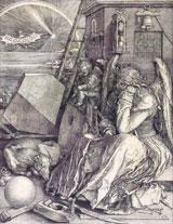 Albrecht Dürer Melencolia I (Die Melancholie) 1514 Kupferstich ©Hessisches Landesmuseum Darmstadt, Foto: Wolfgang Fuhrmannek