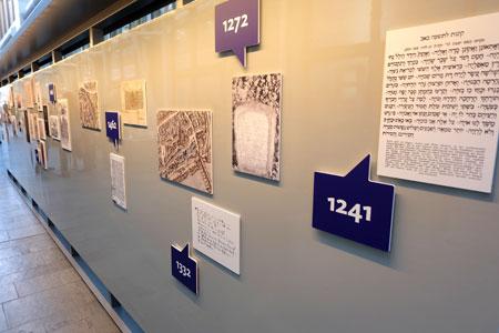 Geschichte der jüdischen Geschichte in Frankfurt auf einen Blick. Foto © massow-picture
