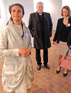 vl. Dr. Doaa Elsayed, Prälat Dietmar Giebelmann, Dr. Anja Lempges. Foto © massow-picture