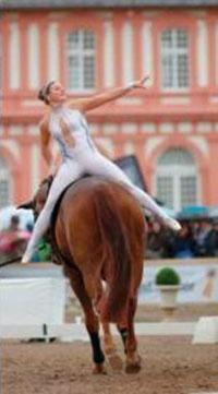 Eleganz auf Pferd Foto © Julia Rau, Wiesbadener Reit- & Fahr-Club e.V