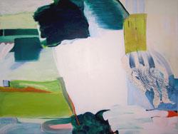 Susanne Zuehlke, Lichtspiel, 2010, Eitempera auf Nessel, 150 x 200 cm
