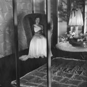 Lilli Palmer in DER GLÄSERNE TURM (BRD 1957, R: Harald Braun) Quelle: Deutsches Filminstitut