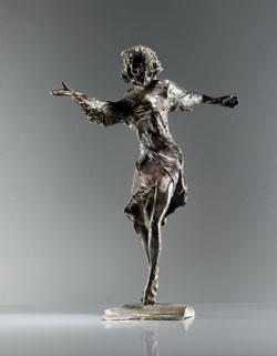 Karlheinz Oswald, Farafa, 2015, Bronze, 52 cm © Rother Winter
