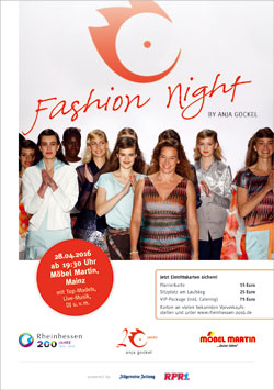200 Jahre Rheinhessen Fashion Night Mit Anja Gockel Am 28 April In