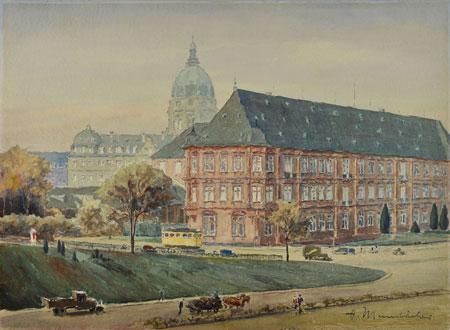 Kurfürstliches-Schloss_früh